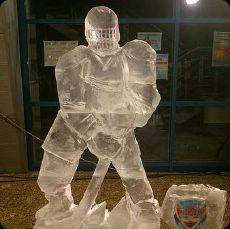 Ice Carving Show